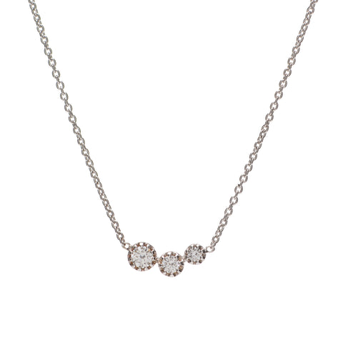 Diamond Comet Necklace
