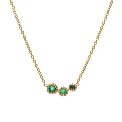 Emerald Comet Necklace - Lori McLean