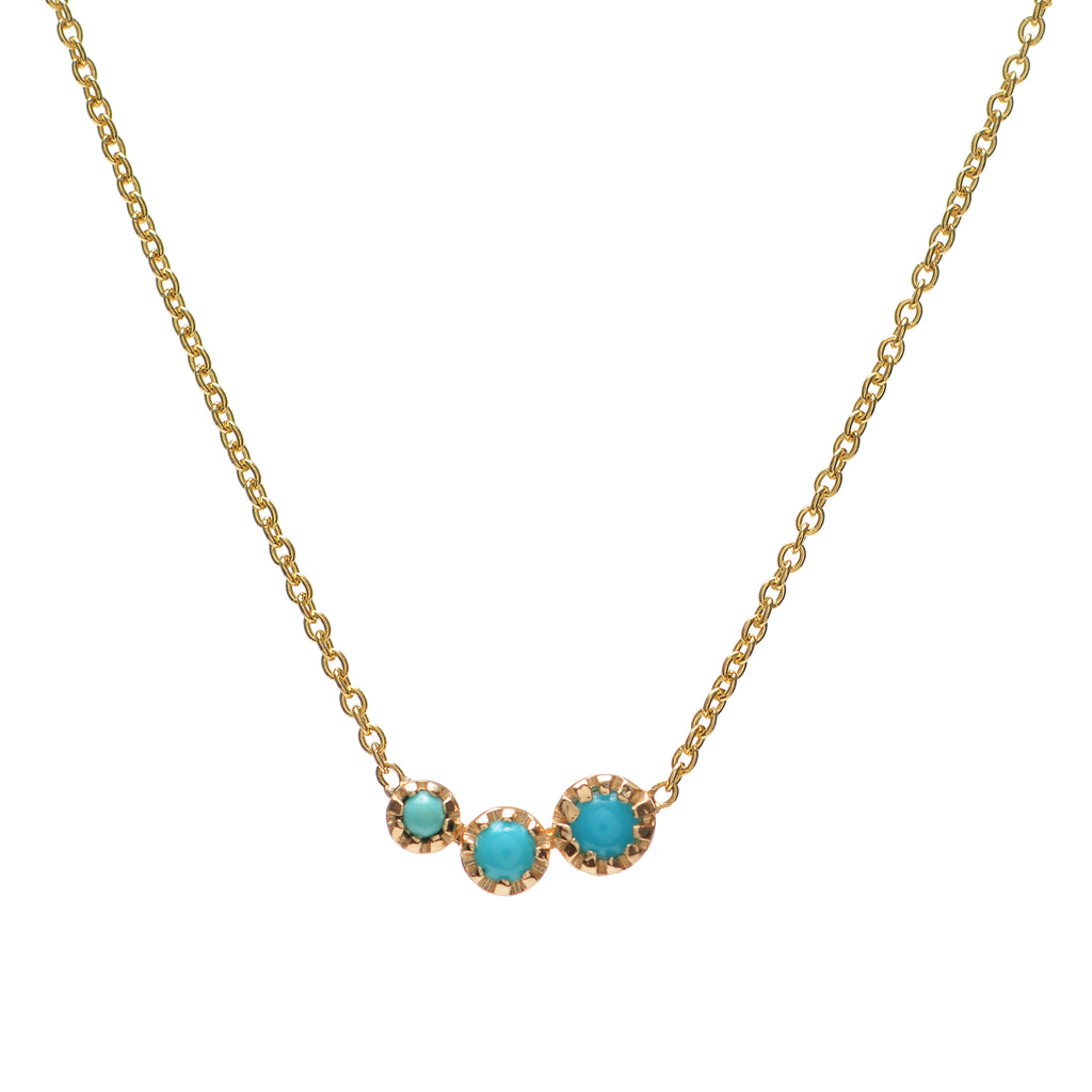Turquoise Comet Necklace - Lori McLean