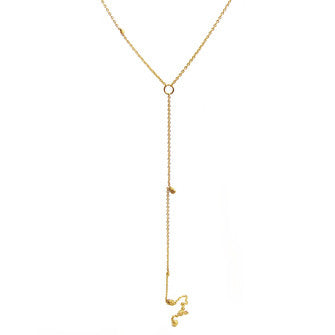 Itty Bitty Plunge Necklace - Lori McLean