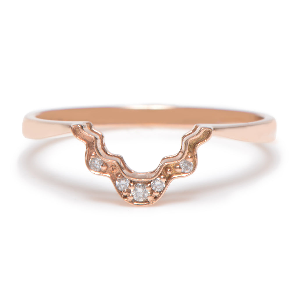 Anniversary Shadow Band in Rose - Lori McLean