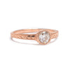 Tapered Solitaire Ring Setting - Lori McLean