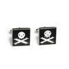 Jolly Roger Inlay Cufflinks - Lori McLean
