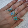 Two Spike Turquoise Ring - Lori McLean