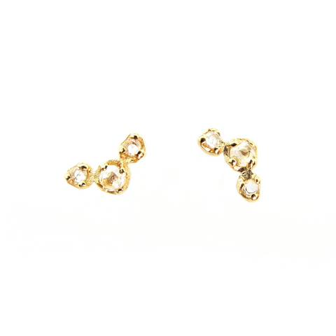 Rose Cut Constellation Earrings - Lori McLean