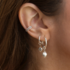 Sterling Silver Sparkle Ear Cuff