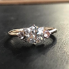 Transitional Diamond Slipper Ring - Lori McLean