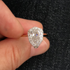 Custom Pear Cut Diamond Ring - Lori McLean