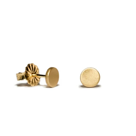 Circle Button (Large) Studs - Lori McLean