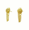 Triple Chain Stud Earrings - Lori McLean