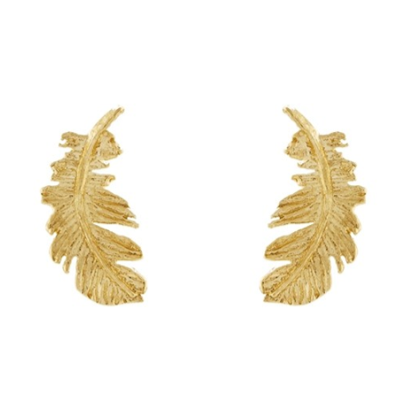 Plume Stud Earrings - Lori McLean