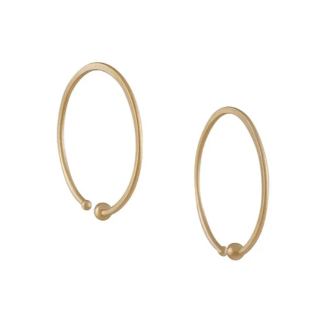 Small Loop Hoop Earrings - Lori McLean