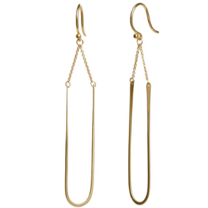 Modern Arch Earrings - Lori McLean