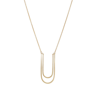 Double Modern Arch Necklace - Lori McLean