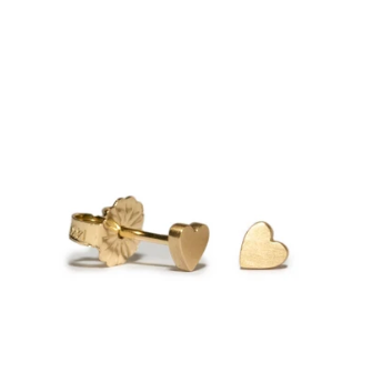 Heart Button Studs - Lori McLean