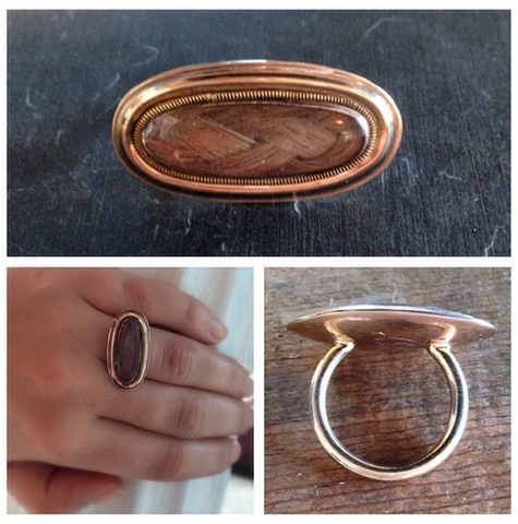Custom Conversion Memorial Ring - Lori McLean