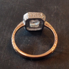 Custom Deco Rectangle Ring - Lori McLean