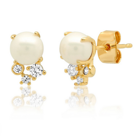Pearl Party Studs