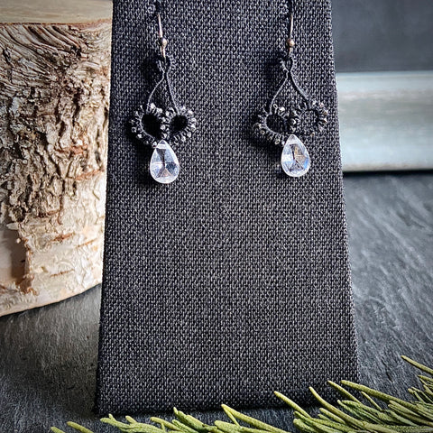 Zircon Drop Earrings