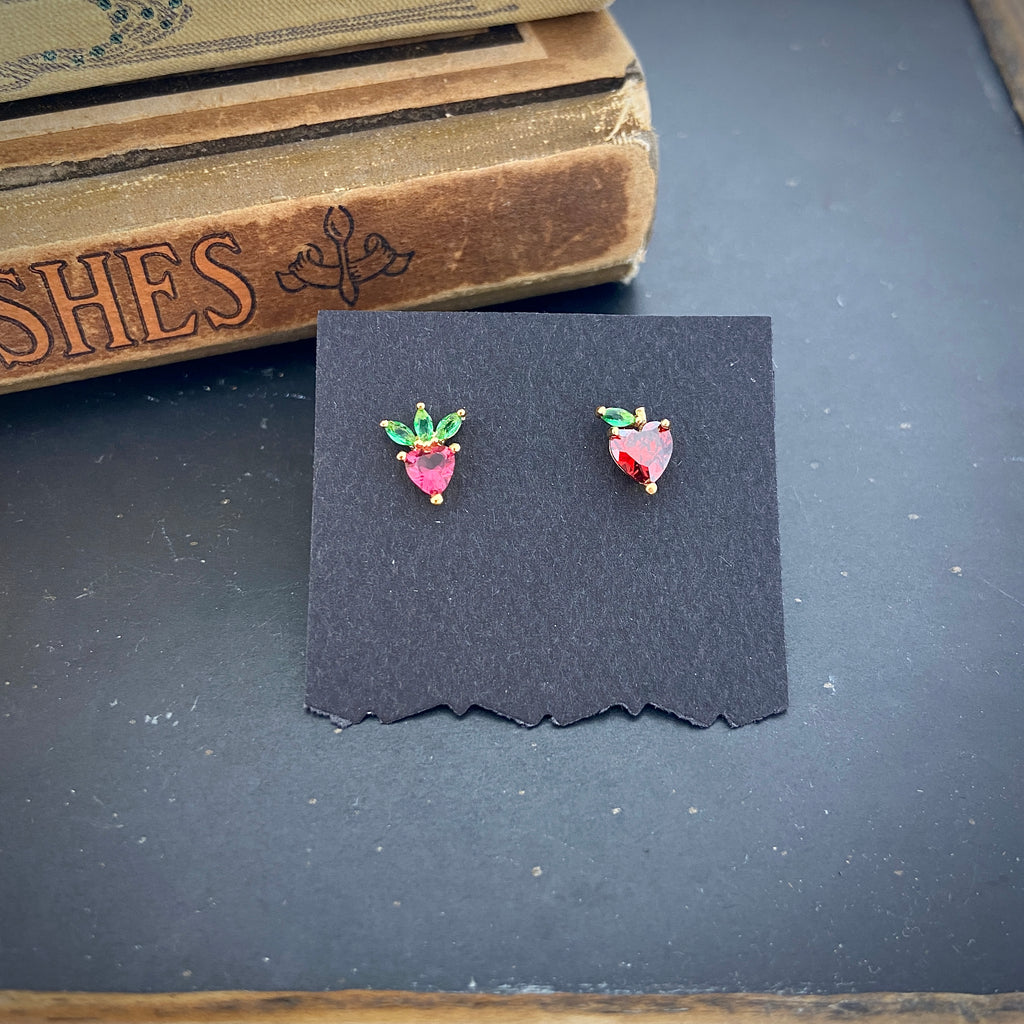 Apple & Strawberry Studs