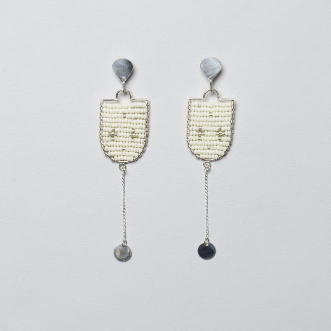 Selina Beaded Stud Earring