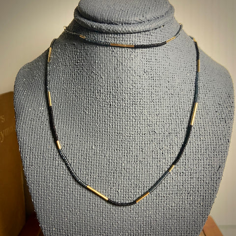 Black, Grey & Gold Strand