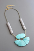 Magnesite + Dyed Howlite Necklace