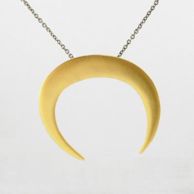 Organic Horseshoe Pendant Necklace - Lori McLean