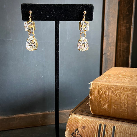 Bit-of-Bling Drop Earrings
