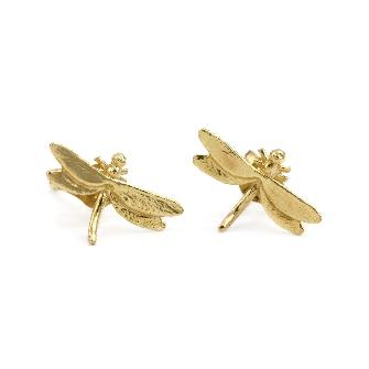Teeny Tiny Dragonfly Studs - Lori McLean