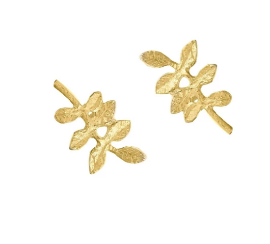 Verity Leaf Studs - Lori McLean