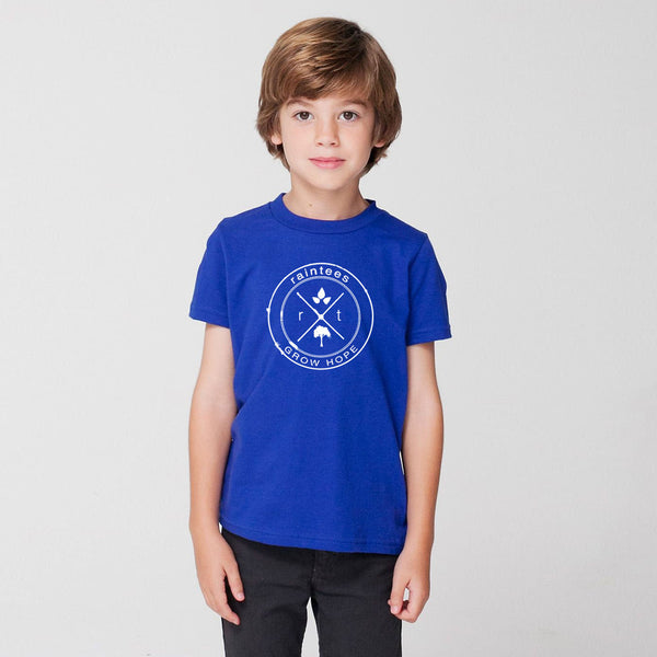 Kids Blue Logo Tee