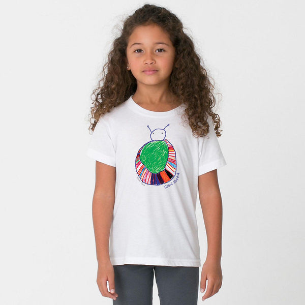 Kids Rainbow Bug Tee