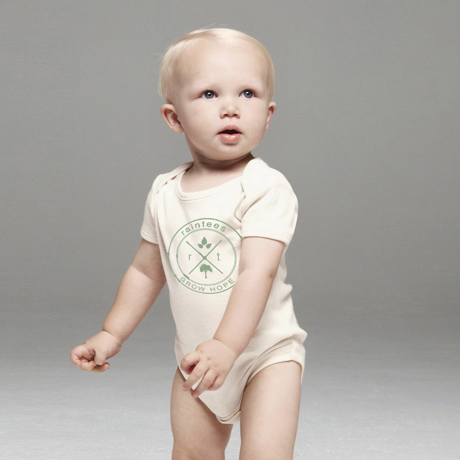 Baby Organic Logo One-piece