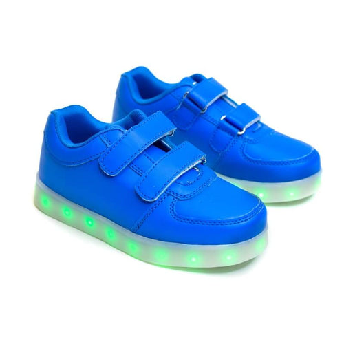 Boys' Blue Light Up Shoes