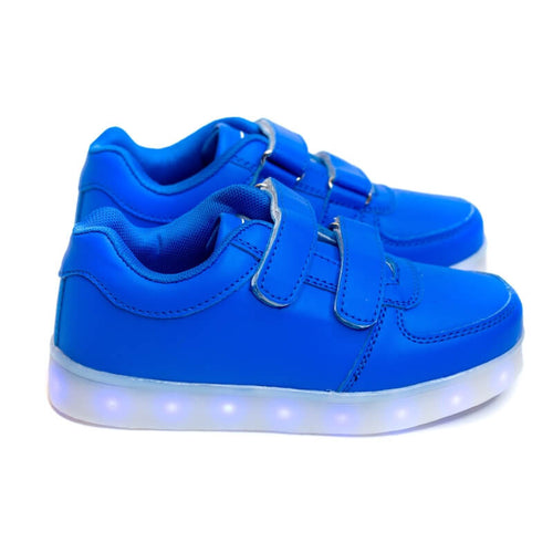 Girls' Blue Light Up Shoes