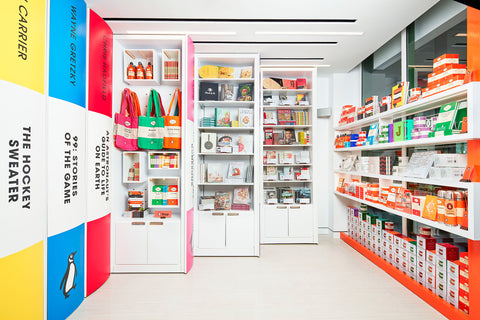 Penguin Shop interior