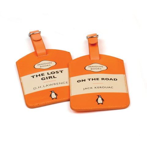 Luggage Tag: Lost Girl (Orange)