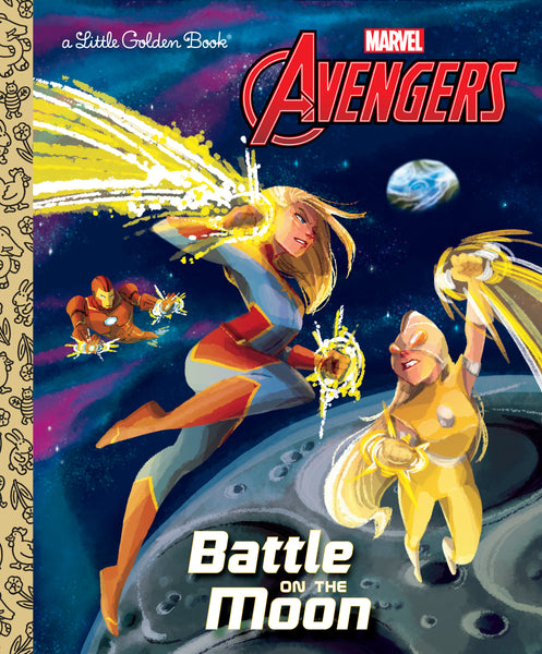 Battle on the Moon (Marvel Avengers)