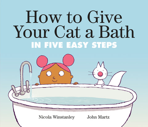 How to Give Your Cat a Bath