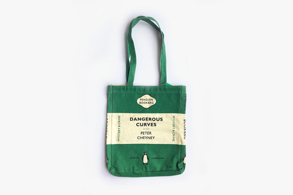Tote Bag - Dangerous Curves - Green