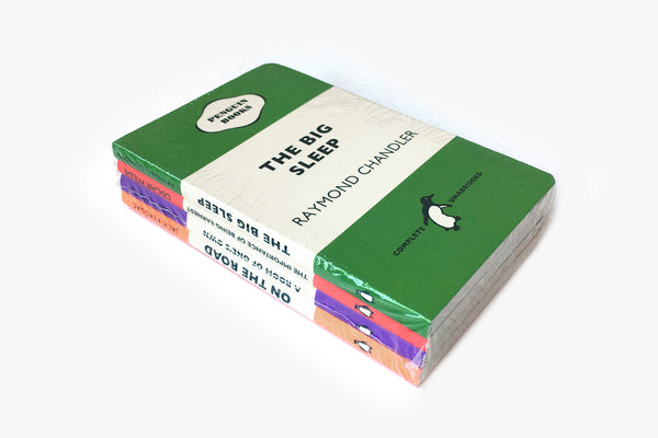 Penguin Tri-band Mini Notebook 4-pack