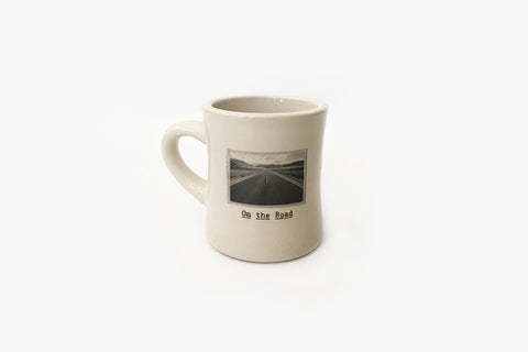 Mug - On the Road - Diner Style Front