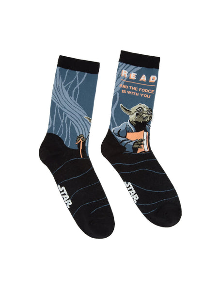 Read Yoda Star Wars Adult Socks