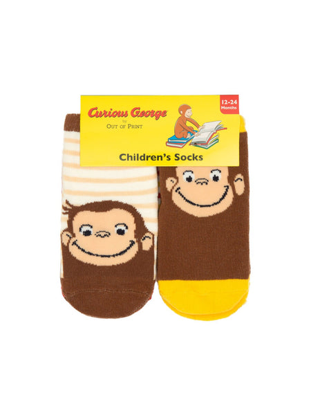 Curious George Baby/Toddler Sock 4-pack (12-24 Months)