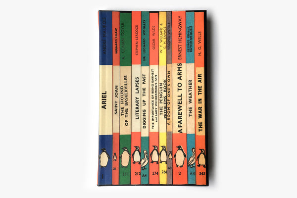 Penguin Spines Notebook - Front