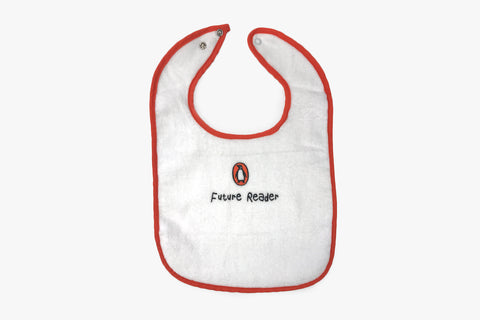 Bib: Future Reader (Orange Trim)