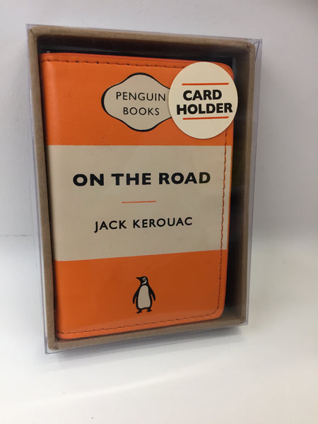Card Holder: On the Road (Orange)