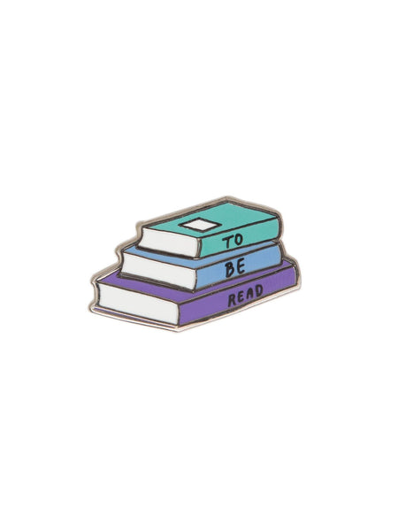 To Be Read Enamel Pin