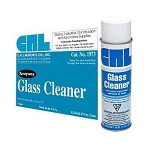 Sprayway 1973 Glass Cleaner - 1 Case (12 Cans)